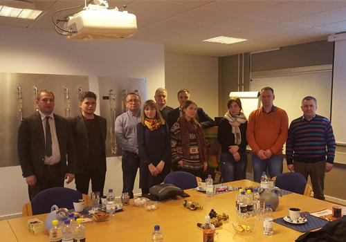 Группа в Дании на семинаре