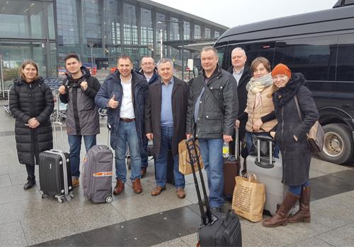 Группа прибыла в Копенгаген