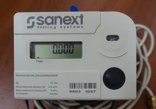 Прибор учета тепла SANEXT