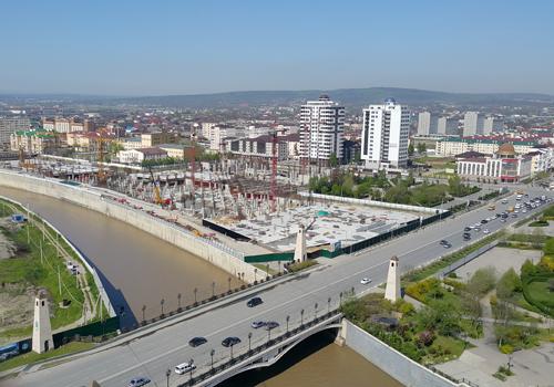 Панорама г. Грозный