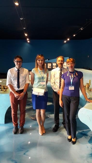 С итальянскими коллегами